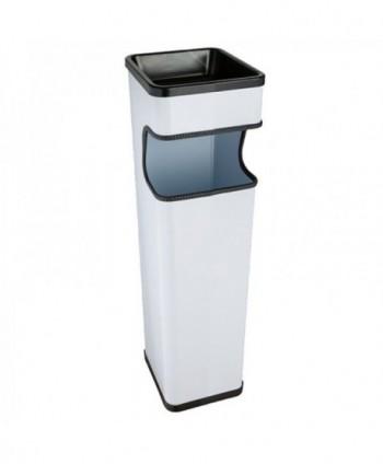 Cosuri gunoi cu scrumiera - Scrumiera de exterior, alba - 20 litri - arli.ro