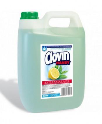 Consumabile (sapunuri, geluri, creme) - Sapun lichid antibacterian - Clovin lamaie si ceai verde - 5 l - arli.ro