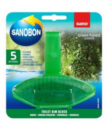 Odorizante pentru WC - Odorizant WC Sano Bon Green Forest - arli.ro