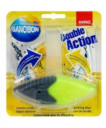 Odorizante pentru WC - Odorizant WC Sano Bon double action Lamaie - arli.ro