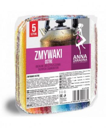 Lavete profesionale - Lavete aspre Anna Zaradna - 5 bucati - arli.ro