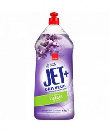 Detergenti si solutii de curatat - Solutie de curatat pentru multisuprafete, cu otet -  Sano Jet Gel 1,5L - arli.ro