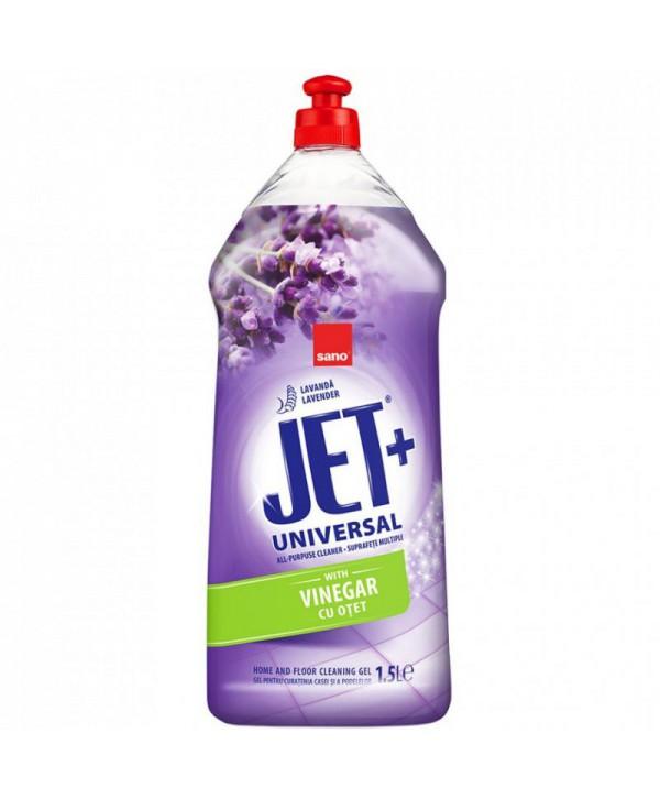 Detergenti si solutii de curatat - - Solutie de curatat pentru multisuprafete, cu otet -  Sano Jet Gel 1,5L - arli.ro