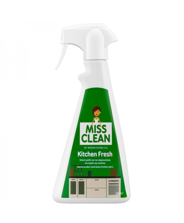 Neutralizatoare de mirosuri - - Odorizant neutralizator 500 ml - Kitchen Fresh - arli.ro