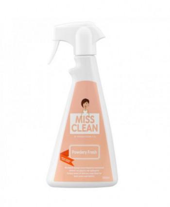 Odorizante pentru tesaturi - Odorizant ambiental Megasystems Miss Clean 500 ml - Powdery Fresh - arli.ro