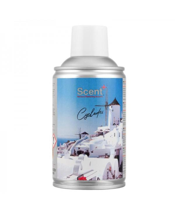 Spray-uri odorizante pentru 20-50 mp - - Odorizant de camera spray 250ml ScentPlus - Cyclades - arli.ro