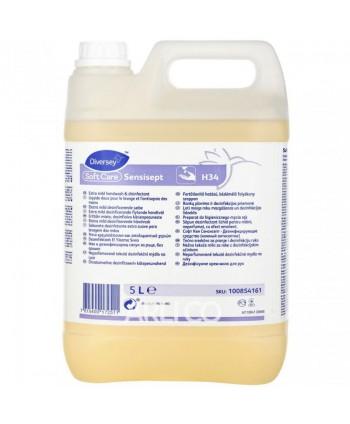 Dezinfectanti pentru maini - Sapun dezinfectant medical - Soft Care Sensisept - 5 litri - arli.ro