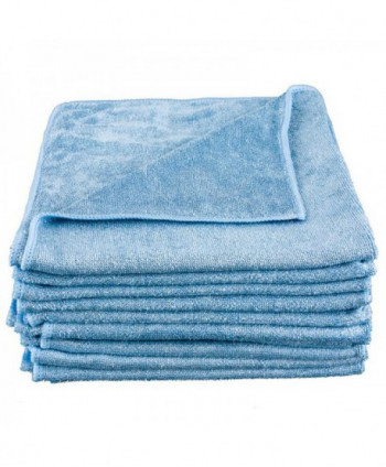 Lavete profesionale - Laveta microfibra albastra, 40cm x 40cm - pachet 5 bucati - arli.ro