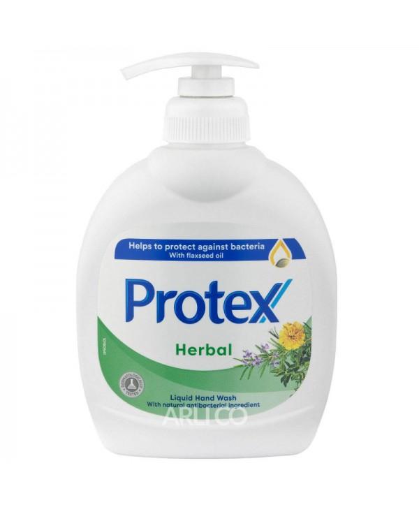 Dezinfectanti pentru maini - - Sapun lichid antibacterian - Protex Herbal- 300 ml - arli.ro