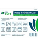Dispensere rola hartie - Prosop de hartie ArliSoft®, Autocut, celuloza 150 metri - pachet 6 role - arli.ro