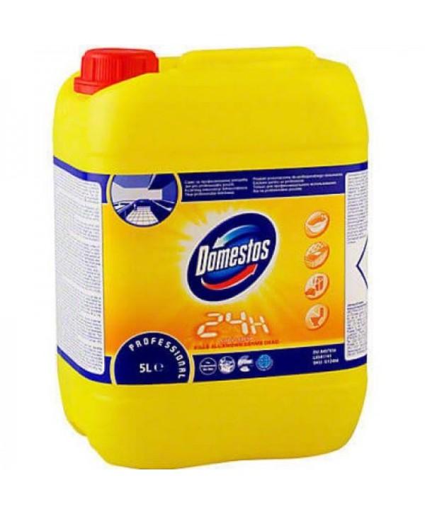 Detergenti si solutii de curatat - - Dezinfectant suprafete - Domestos Professional Citrus Fresh 5 L - arli.ro