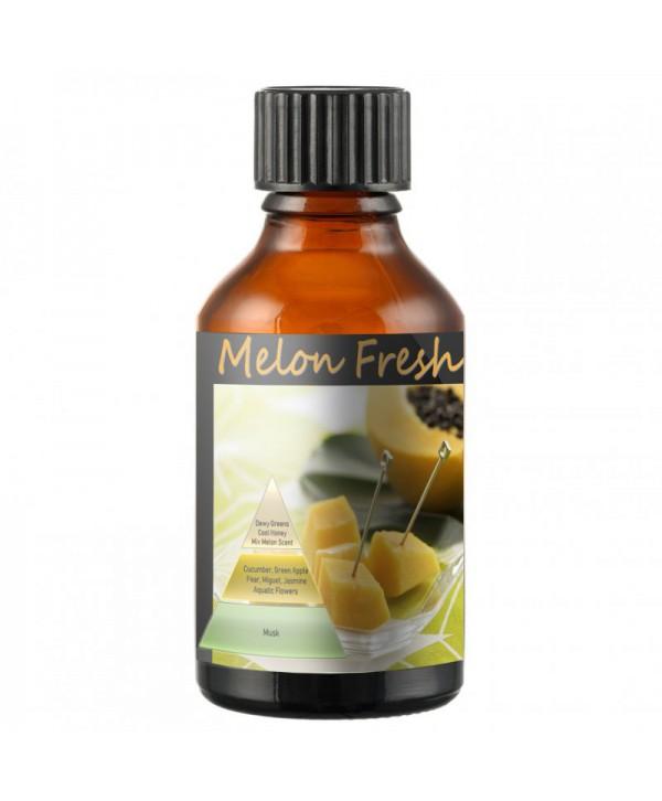 Uleiuri esentiale pentru30 - 5000mp - - Odorizant de camera ulei esential 50 ml ScentPlus - Melon Fresh - arli.ro