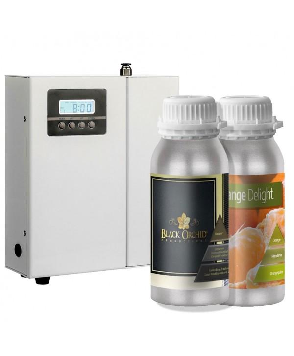 Uleiuri esentiale pentru30 - 5000mp - - Pachet promotional UltraScent 200P + Black Orchid 500ml + Orange Delight 500ml - arli.ro