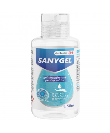 Dezinfectanti pentru maini - Gel dezinfectant pentru maini - Sanygel - 50 ml - arli.ro