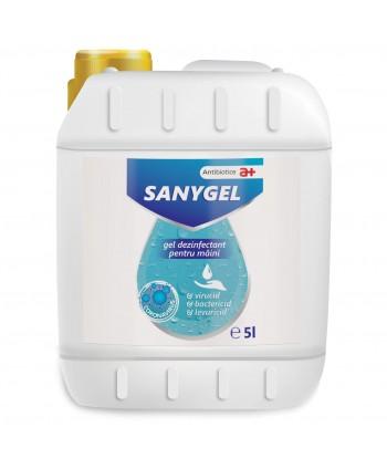 Protectie si dezinfectare - Gel dezinfectant pentru maini - Sanygel - 5 litri - arli.ro