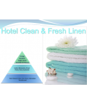 Uleiuri esentiale pentru30 - 5000mp - Odorizant de camera ulei esential 500 ml ScentPlus - Hotel Clean & Fresh Linen - arli.ro
