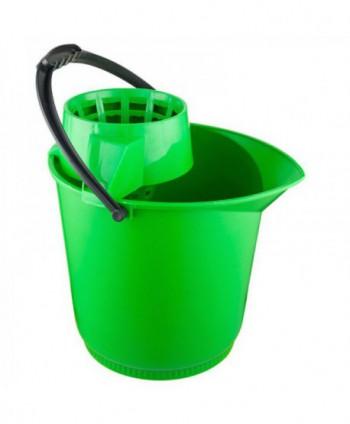 Materiale de curatenie - Galeata de curatenie cu storcator - verde - arli.ro