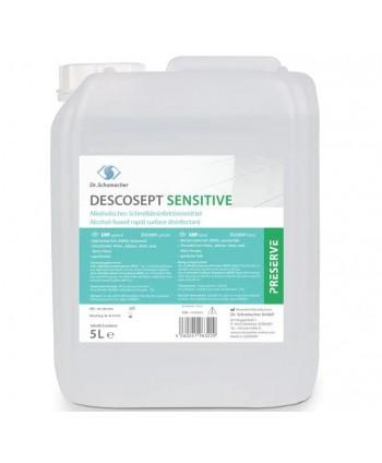 Dezinfectanti pentru suprafete - Dezinfectant medical de nivel inalt pentru suprafete - Descosept Sensitive - 5 litri - arli.ro