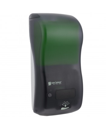 Dozatoare de sapun - Dozator de sapun lichid / dezinfectant San Jamar, fumuriu senzor hybrid 900 ml - arli.ro