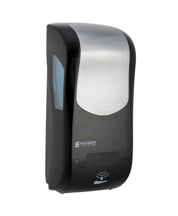 Dozatoare de sapun - - Dozator de sapun spuma San Jamar, negru senzor hybrid 900 ml - arli.ro