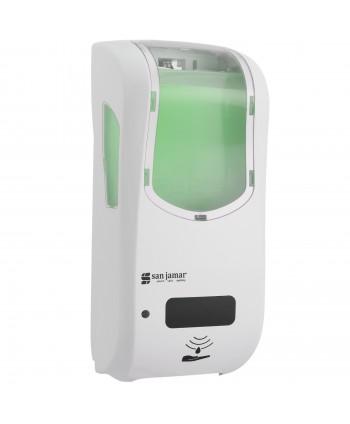 Dozatoare de sapun - Dozator de sapun lichid / dezinfectant San Jamar, alb senzor hybrid 900 ml - arli.ro