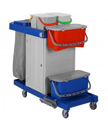 Produse de curatenie - Carucior de curatenie / dezinfectare pt mop medical plat - ArliPlus 32 - arli.ro