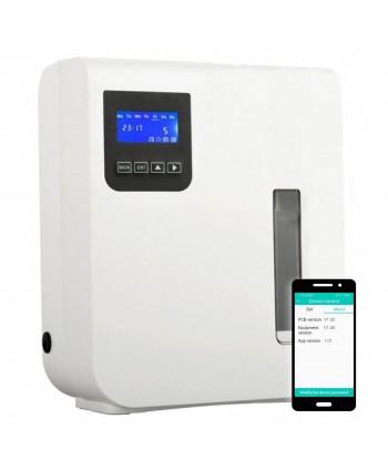 Uleiuri esentiale pentru30 - 5000mp - Dispenser odorizant profesional, aparat difuzor de arome prin nebulizare cu ulei esential, alb - Ultrascent 150 Wi-Fi - arli.ro
