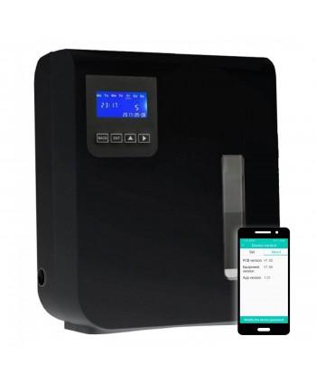 Uleiuri esentiale pentru30 - 5000mp - Dispenser odorizant profesional, aparat difuzor de arome prin nebulizare cu ulei esential, negru - Ultrascent 150 Wi-Fi - arli.ro