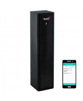 Uleiuri esentiale pentru30 - 5000mp - Dispenser odorizant profesional, aparat difuzor de arome prin nebulizare cu ulei esential, negru - ScentPlus 830 - arli.ro