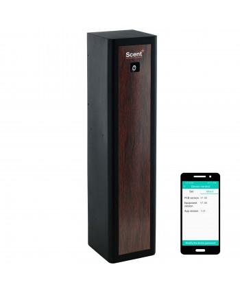 Uleiuri esentiale pentru30 - 5000mp - Dispenser odorizant profesional, aparat difuzor de arome prin nebulizare cu ulei esential, maro - ScentPlus 830 - arli.ro