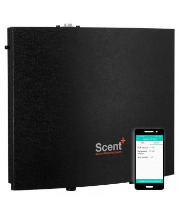Uleiuri esentiale pentru30 - 5000mp - Dispenser odorizant profesional, aparat difuzor de arome prin nebulizare cu ulei esential, negru - ScentPlus 2000 - arli.ro