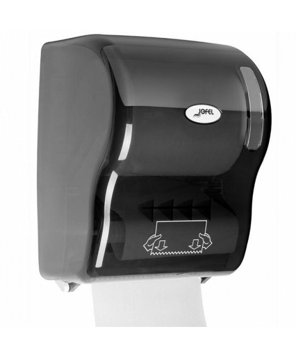 Dispensere rola hartie - - Dispenser prosop hartie rola, fumuriu - Jofel Autocut - arli.ro