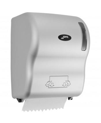 Dispensere Hartie - Dispenser prosop hartie rola, silver - Jofel Autocut - arli.ro
