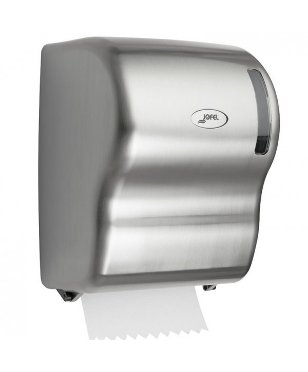Dispensere rola hartie - - Dispenser prosop hartie rola, nickel - Jofel Autocut - arli.ro