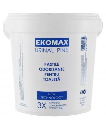 Odorizante pentru WC - Pastile odorizante pentru pisoar Ekomax 1 Kg, 100 bucati - arli.ro