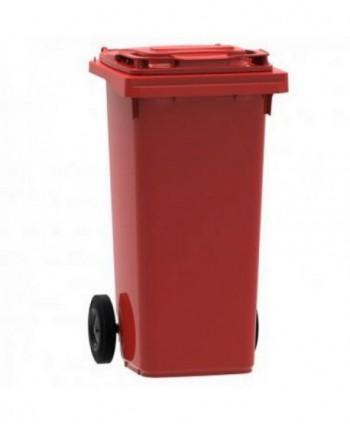 Cosuri gunoi stradale - Pubela de gunoi, ROSIE - 120 litri - arli.ro