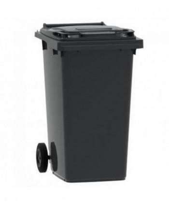 Cosuri gunoi stradale - Pubela de gunoi, NEAGRA - 240 litri - arli.ro