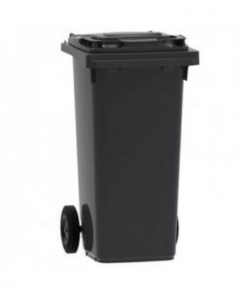 Cosuri gunoi stradale - Pubela de gunoi, NEAGRA - 120 litri - arli.ro