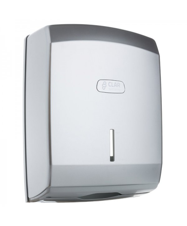 Dispensere prosoape din hartie - - Dispenser prosoape hartie Z,  cromat - I-NOVA - arli.ro