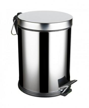 Cosuri si perii WC - Cos de gunoi din inox cu  SOFT CLOSE - 5 litri - arli.ro