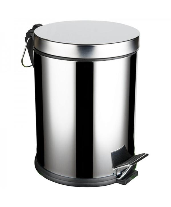 Cosuri si perii WC - - Cos de gunoi din inox cu  SOFT CLOSE - 5 litri - arli.ro