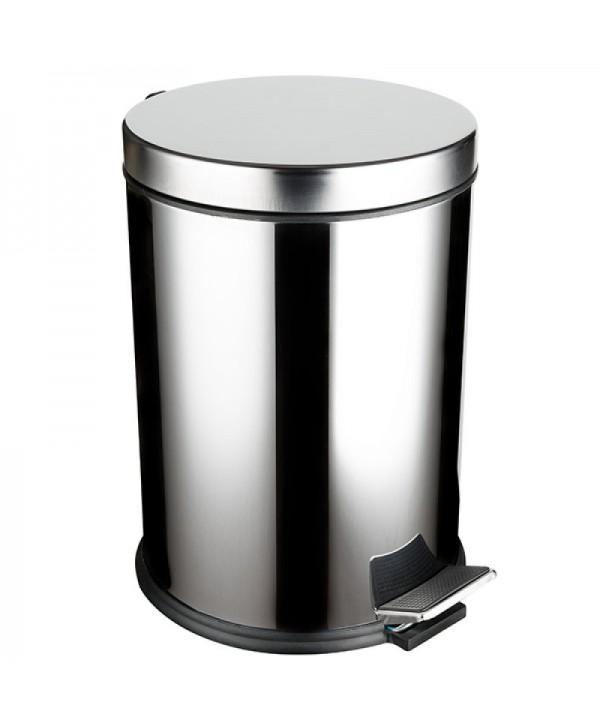 Cosuri si perii WC - - Cos de gunoi din inox cu SOFT CLOSE - 12 litri - arli.ro