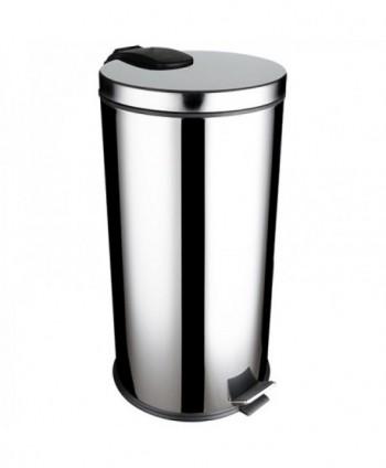 Cosuri gunoi inox - Cos de gunoi din Inox cu SOFT CLOSE - 40 litri - arli.ro