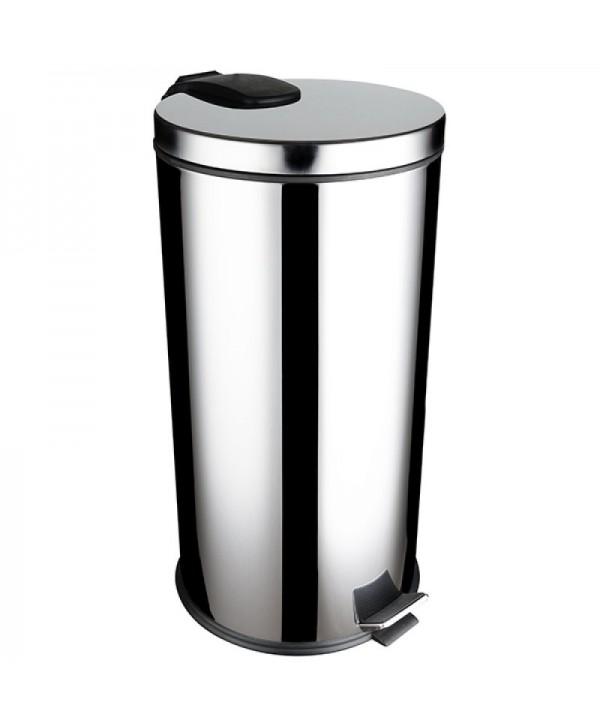 Cosuri gunoi inox - - Cos de gunoi din Inox cu SOFT CLOSE - 40 litri - arli.ro