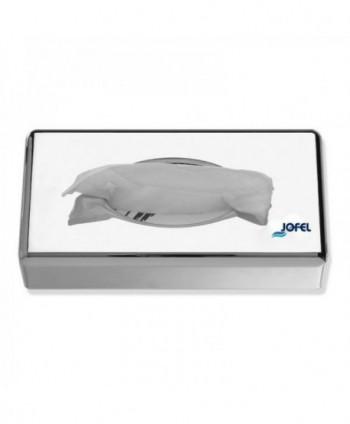Dispensere pentru servetele - Dispenser din inox lucios pentru servetele faciale - Jofel - arli.ro