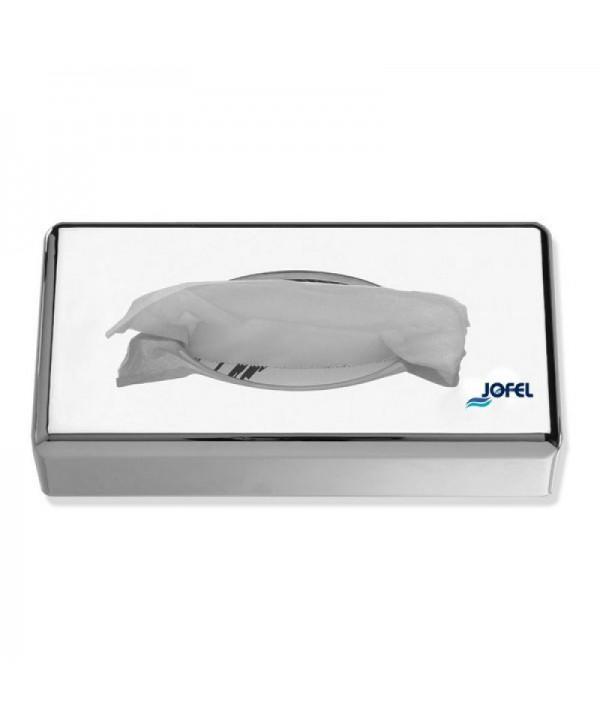 Dispensere pentru servetele - - Dispenser din inox lucios pentru servetele faciale - Jofel - arli.ro