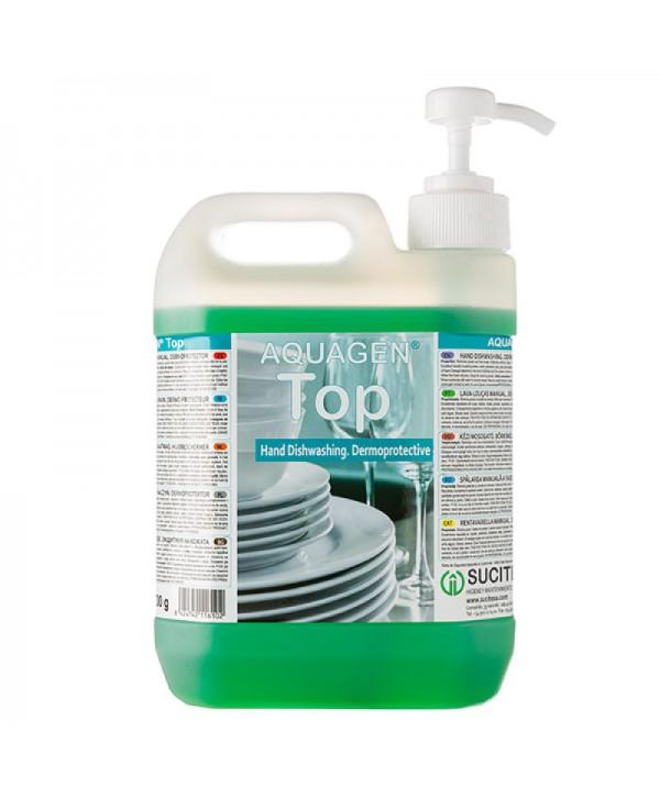 Detergenti si solutii de curatat - - Detergent vase dermoprotectiv - Aquagen Top - arli.ro