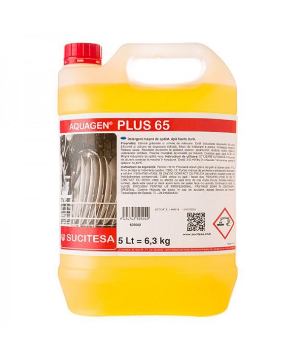 Detergenti si solutii de curatat - - Detergent spalare in apa foarte dura - Aquagen Plus 65 - arli.ro