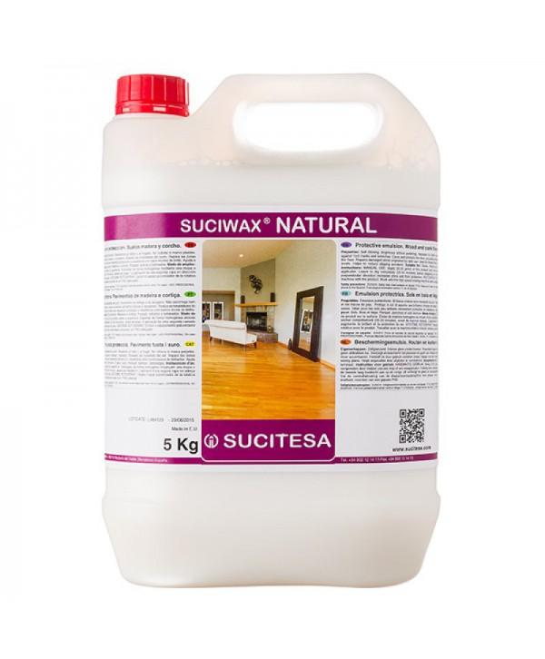 Detergenti si solutii de curatat - - Emulsie protectoare pentru parchet - Suciwax Natural - arli.ro