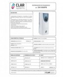 Spray-uri odorizante pentru 20-50 mp - Dispenser profesional pentru odorizant spray Clar Systems DA1000 - arli.ro